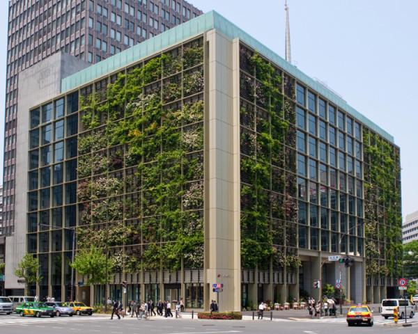 Pasona Urban Farm, Tokyo office building, vertical garden