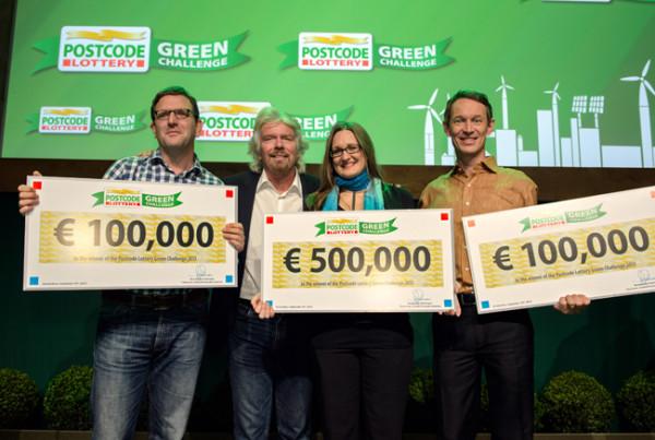 image via Postcode Lottery Green Challenge