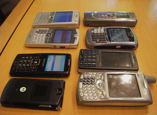 old cell phones recycling