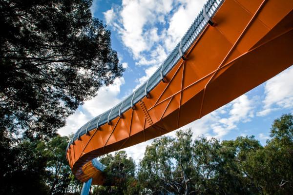 Australia Pedestrian Snake Bridge