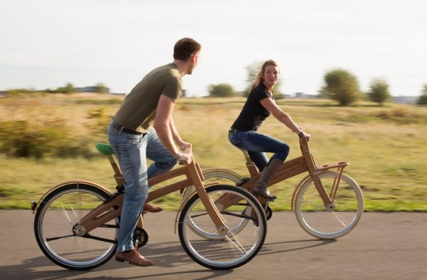 Bough Bikes wooden bike