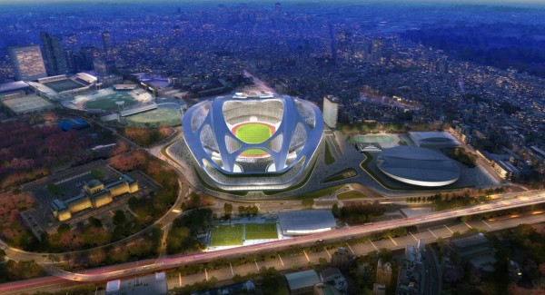 Zaha Hadid Tokyo Olympic Stadium 2020