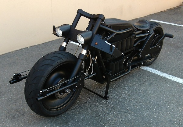 "The seller describes the bike as ""very quiet and stealthy."" (image via eBay)"
