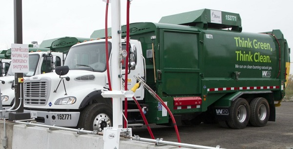 waste management landfill gas natural gas