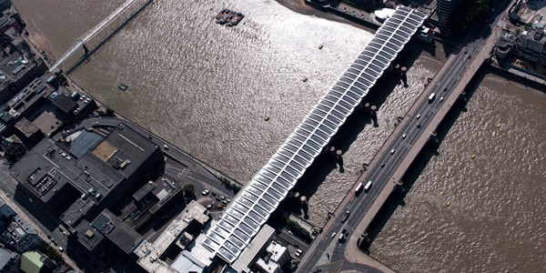 solar Blackfriars Bridge, London s