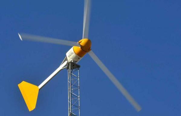 The Bergey Excel 10 (image via Bergey Wind Power)