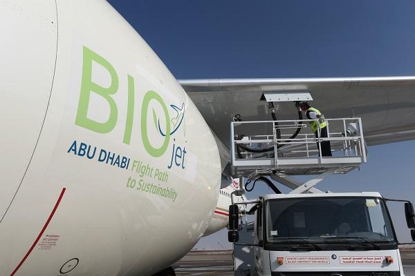 Boeing Ubu Dhabi biofuel avaiation