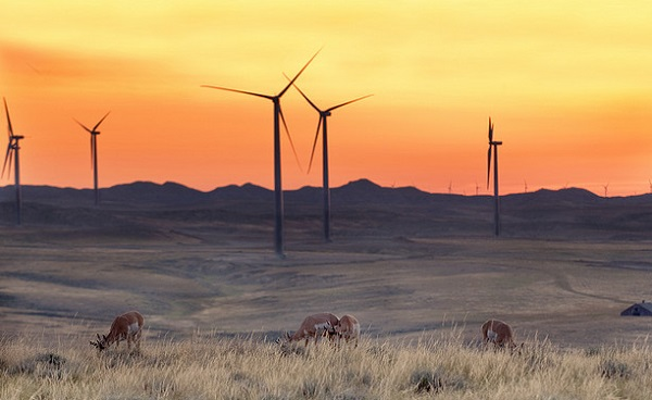 wyoming wind power