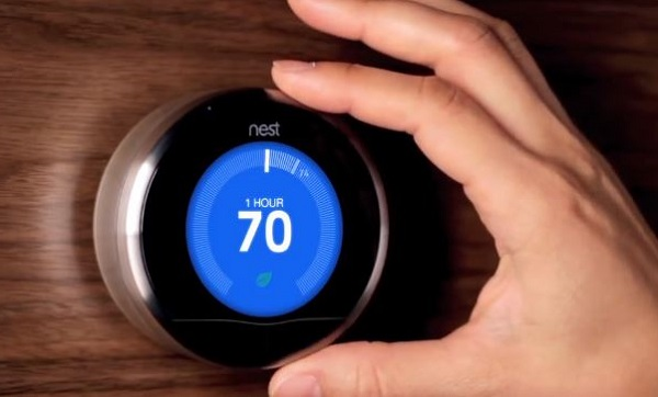 Screen grab from Nest Youtube video