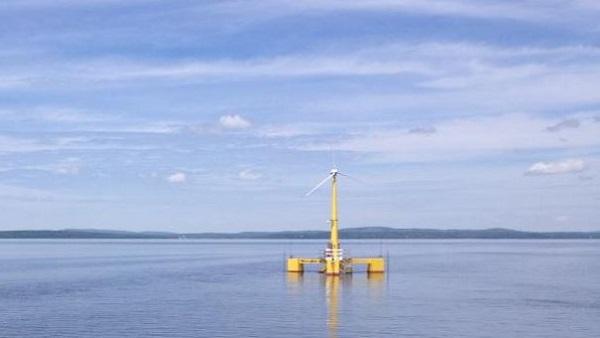 floating turbines