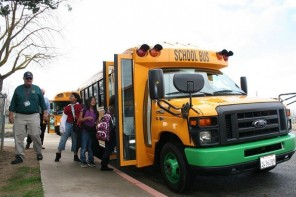 First Electric School Bus Comes To T