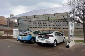 KYOCERA's Solar-Powered Recharging Station