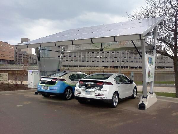 First Municipality-owned Solar Powered EV Charging Station in the USA