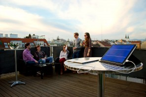 Green crowdfunding success: Solartab, a new breed of solar charger, is
