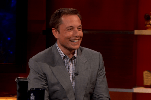 Elon Musk Tells Stephen Colbert Why He Released Tesla Patents