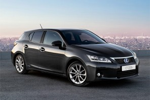 Lexus CT 200h Named Favorite Hybrid