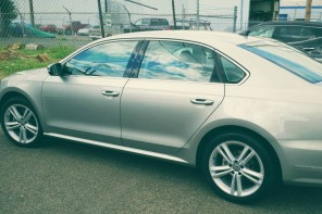 Driving the 2014 VW Passa