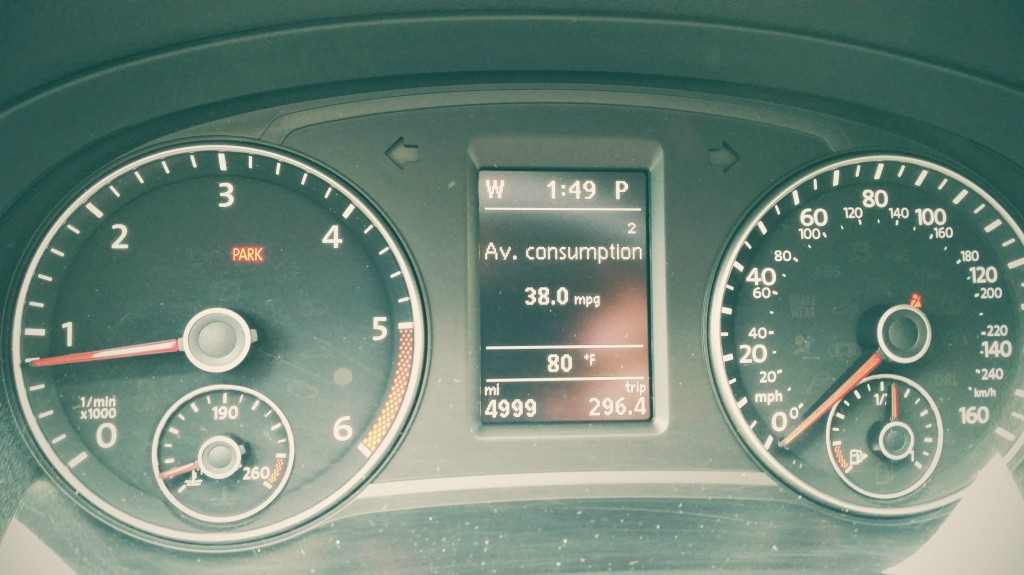 Averaging 38MPG for Mixed City/Highway Driving