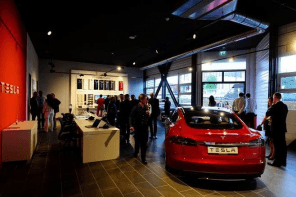 Tesla Opens First Service Center in