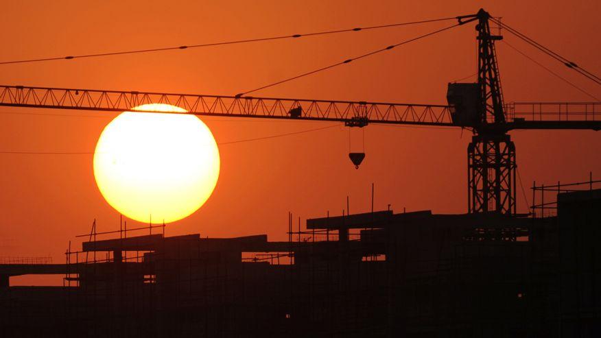 SunsetCrane