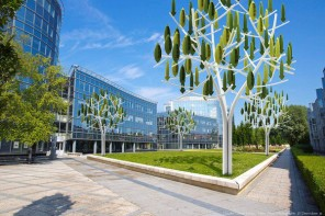 Wind Turbine Trees Generate Renewable Energy for Urban Se