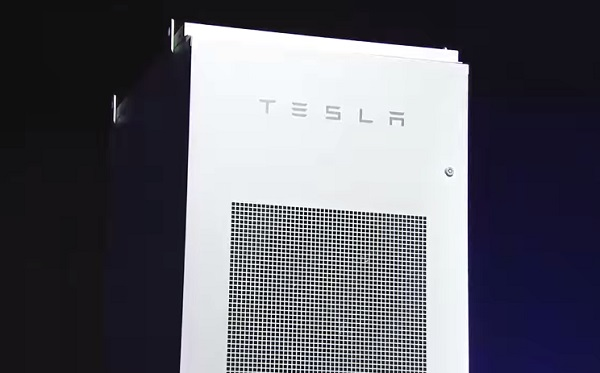 Tesla Powerpack unit.