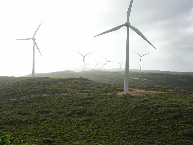 Albany Wind Farm in Western Australia