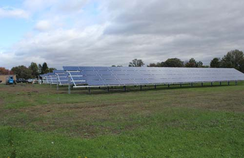 MassDOT's PV installation at Northampton
