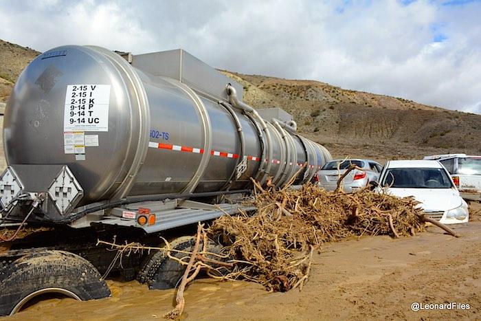 Mudslide after California drought