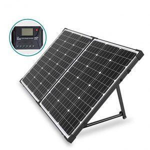 HQST 100 Watt Foldable Solar Suitcase