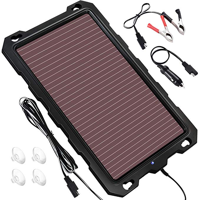 POWOXI Solar Battery Charger