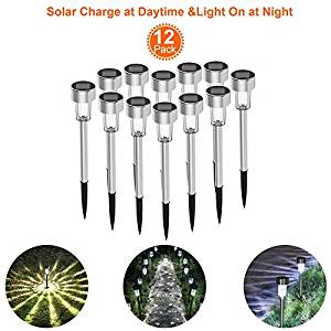 Welight Stainless Steel Solar Pathway Lights
