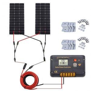 Eco-Worthy 200 W Monocrystalline Solar Panel Kit