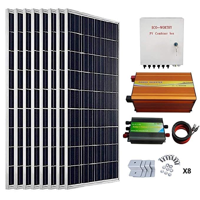 Eco-Worthy 800 W Solar Panel Kit