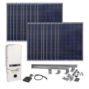 Grape Solar 5830 W Grid-Tied Solar Kit