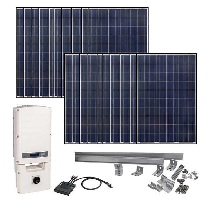 Grape Solar 5830 W Grid-Tied Solar Kit