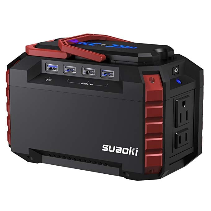 Suaoki 150 Wh Portable Solar Generator