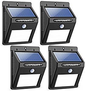 URPOWER Waterproof Solar Lights