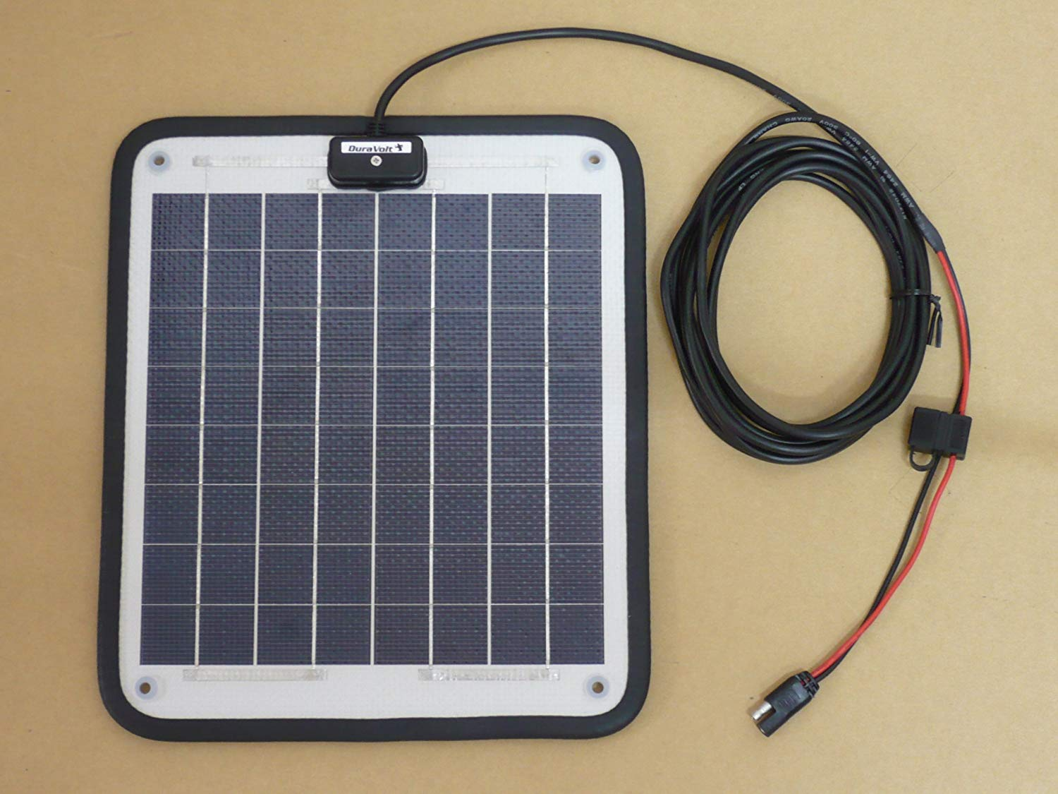 DuraVolt Magnetic Solar Battery Charger