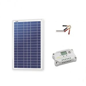 Newpowa 30 W Solar Panel with Charge Controller