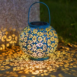 Homeimpro Solar Big Metal Lantern
