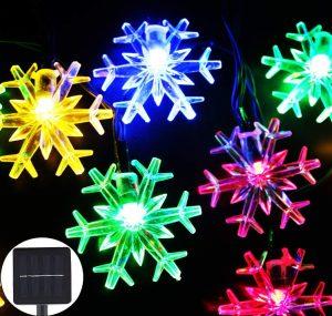 Ingree Snowflake Solar String Light