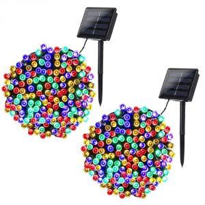 Joomer 2 Pack Solar String Lights
