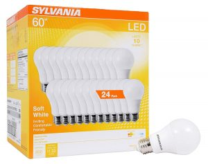 Sylvania 8.5W Soft White LED Lightbulbs