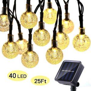 ECOWHO Solar String Lights