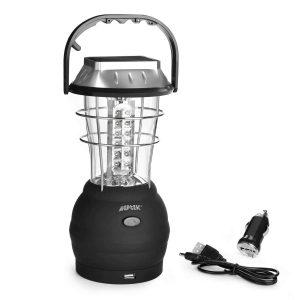 AGPTEK Hand-Crank Solar Lantern