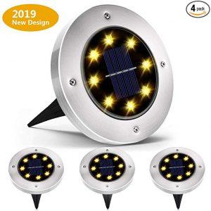 Biling Solar Ground Lights