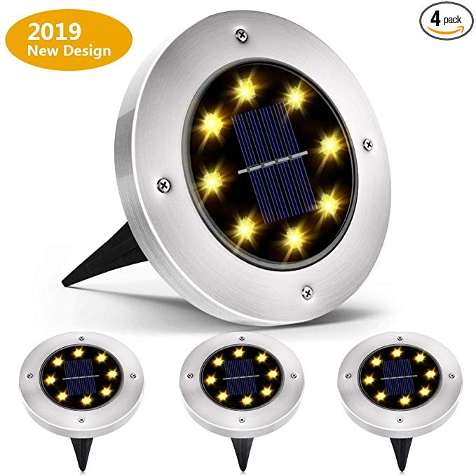 Biling Solar Ground Lights