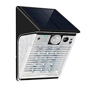 ENSTER Solar-Powered Security Camera with Motion Sensor Floodlight