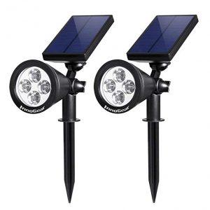 InnoGear Outdoor Solar Spotlights